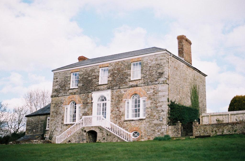 Elopement Editorial on the Cornish Coast