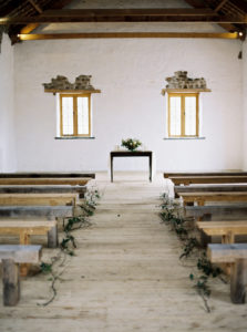 Wedding ceremony, wedding styling, old barn wedding ceremony, Cornwall wedding, rustic barn wedding
